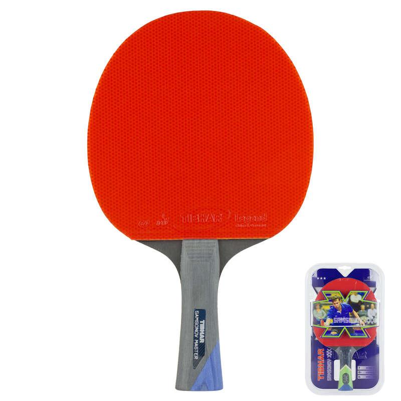 PALETE TENIS DE MASĂ NIVEL MEDIU Sporturi cu racheta - Paletă Tenis Master 3* TIBHAR - Palete, Huse, Accesorii