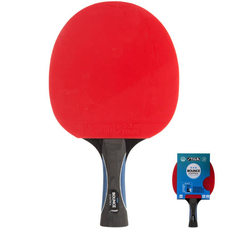 PÁLKY POKROČILÍ RAKETOVÉ SPORTY - PÁLKA BOUNCE CONTROL 3* STIGA - Stolní tenis, ping pong