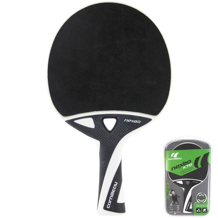 RAQUETTE DE TENNIS DE TABLE FREE NEXEO X70 OUTDOOR