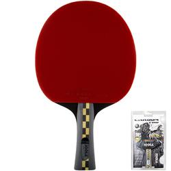 Tischtennisschläger Vereinsspiel Carbon Pro 5*