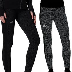 Lauftights lang Run Warm+ Night Damen schwarz
