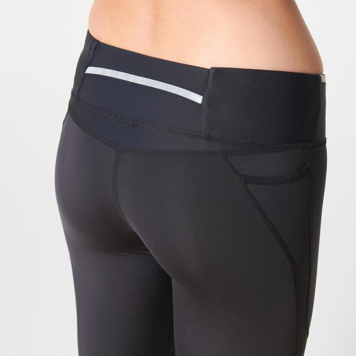 Hardloopkuitbroek voor dames Kiprun Support zwart