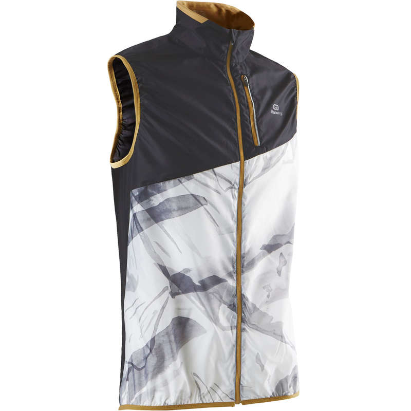 MAN TRAIL RUNNING CLOTHES Trail Running - M SLEEVELESS JACKET WHITE EVADICT - Trail Running Clothes