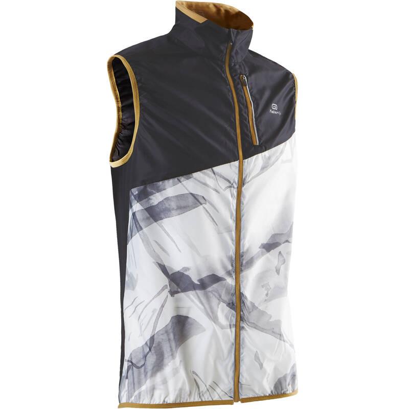 PÁNSKÉ TRAILOVÉ OBLEČENÍ Běh - VESTA NA TRAILOVÝ BĚH BÍLÁ  EVADICT - Běžecké oblečení