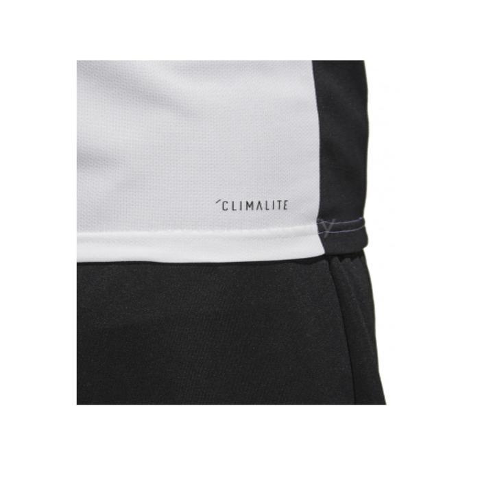 Camiseta de Fútbol adulto Adidas Entrada blanco y negro