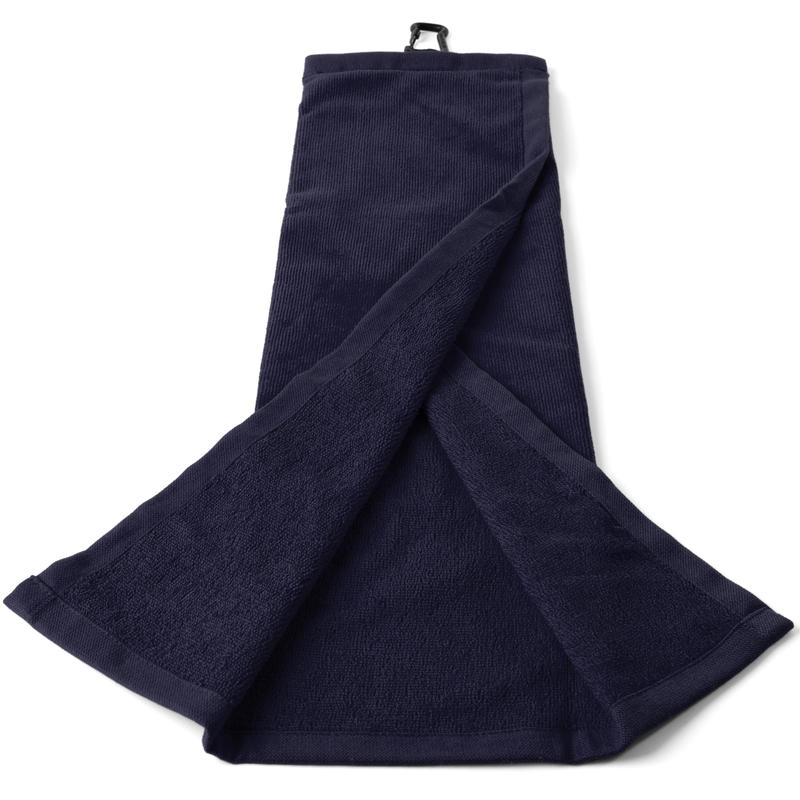 Tri-Fold Golf Towel - Blue