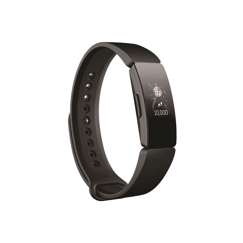 TRACKERS PEDOMETERS OR SCALES Running - FITBIT INSPIRE TRACKER BLACK FITBIT - Running Accessories