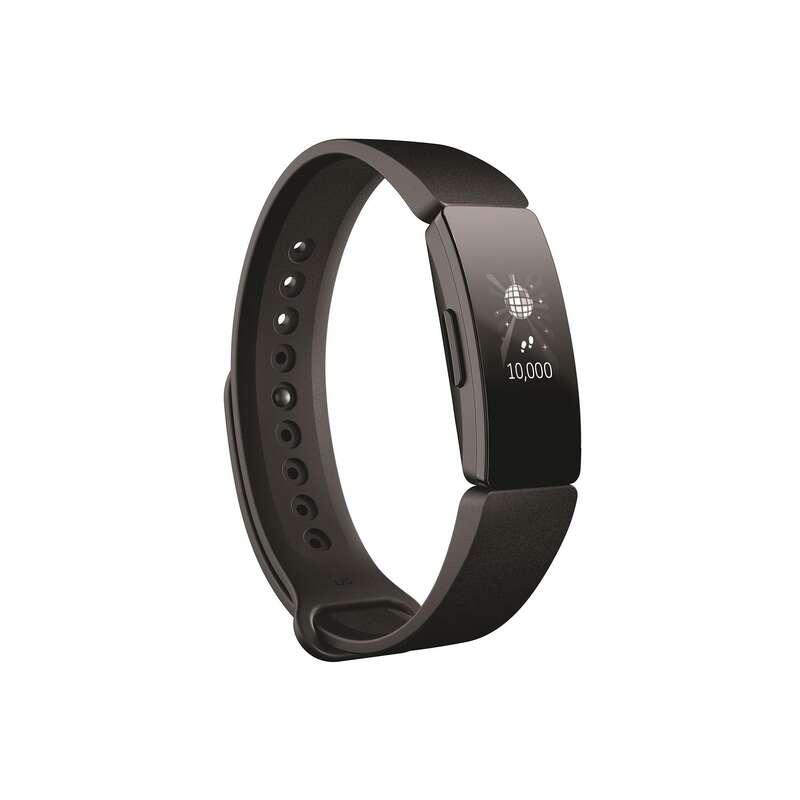 KROKOMIERZE Bieganie - Tracker FITBIT Inspire czarny FITBIT - Akcesoria do biegania