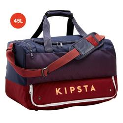 45L Team Sports Bag Hardcase - Blue/Burgundy