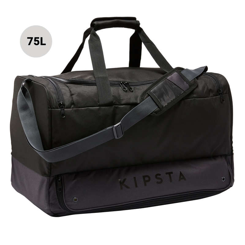 BAG TEAM SPORT Rugby - 75L Bag Hardcase - Black KIPSTA - Rugby