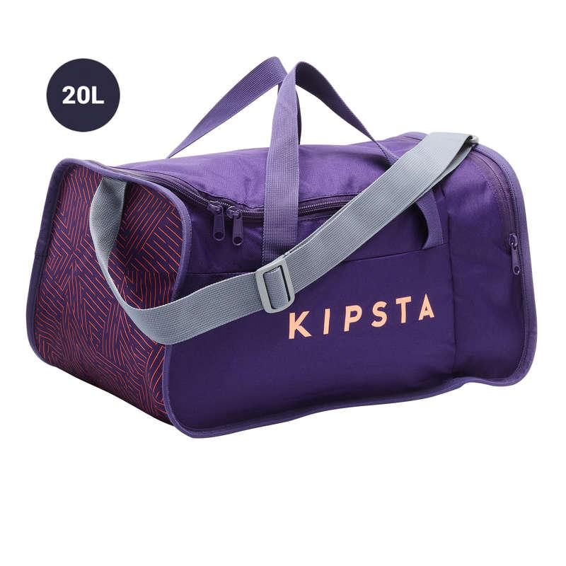 Borse sport collett. Sport di squadra - Borsa KIPOCKET 20L lilla KIPSTA - Borse, pettorine, ostacoli e accessori