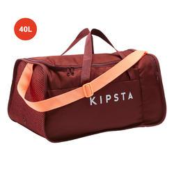 Voetbaltas / Sporttas Kipocket 40 liter rood