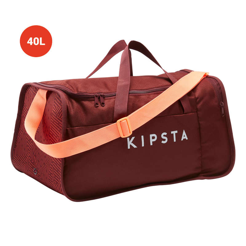 BAG TEAM SPORT Rugby - 40L Kipocket - Red/Coral KIPSTA - Rugby