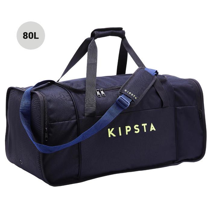 precio competitivo 961db 7d264 Bolsa Deporte Kipsta Kipocket 80L Azul Amarilla