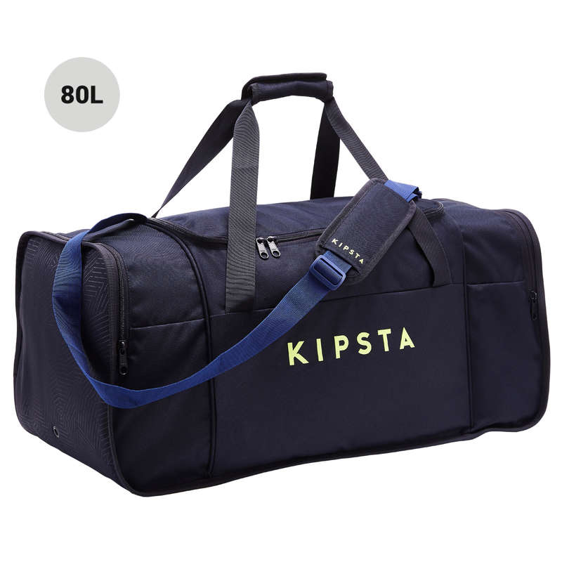 BAG TEAM SPORT Rugby - Kipocket 80L - Blue/Yellow KIPSTA - Rugby