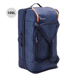 Sporttasche Classic 105Liter Trolley blau/orange