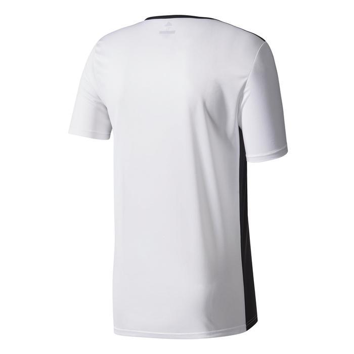 Voetbalshirt voor volwassenen Entrada wit en zwart