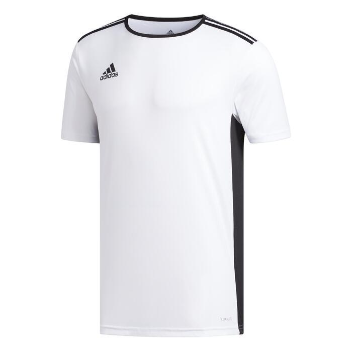 Maillot de football adulte Entrada blanc et noir