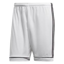 Pantalón corto de fútbol adulto Squadra blanco