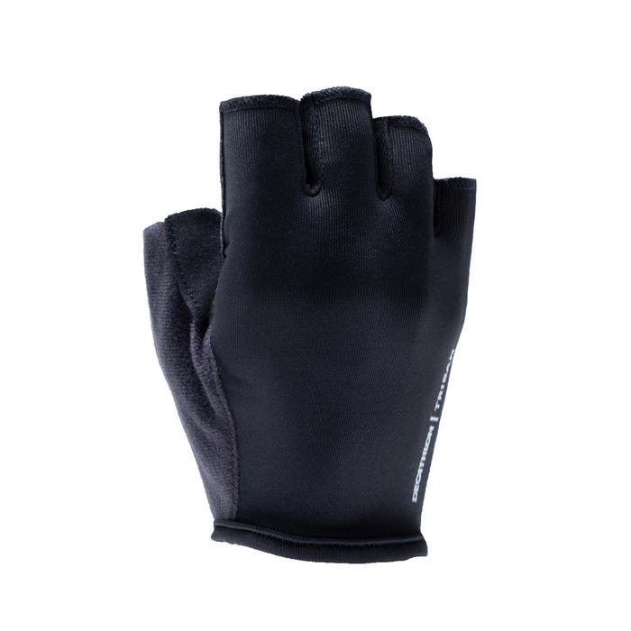 Wielrenhandschoenen RC100 zwart