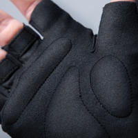 100 Road Cycling Gloves Black
