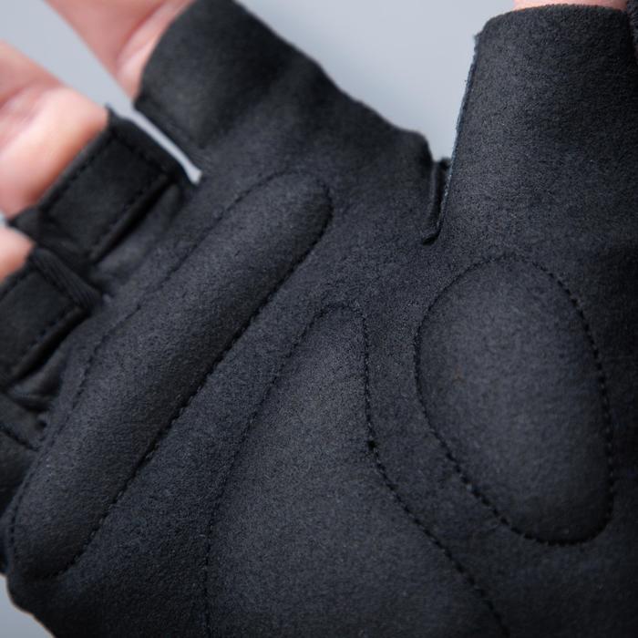 Fahrrad-Handschuhe Rennrad RC 100 Herren schwarz