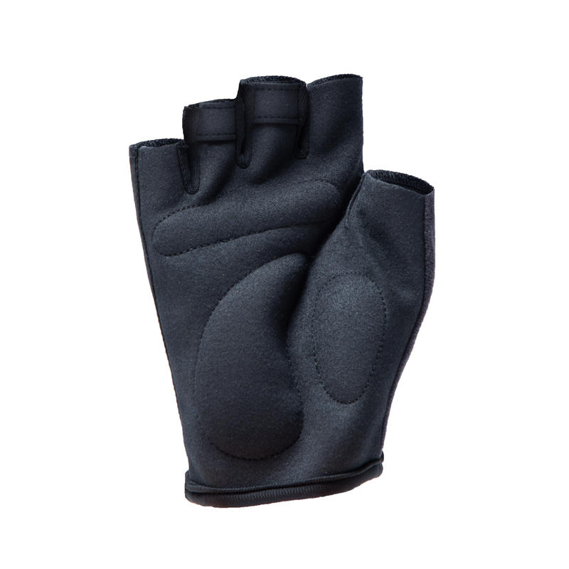 100 Road Cycling Touring Gloves - Black