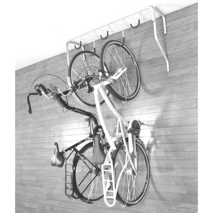 fahrrad wandhalterung f r bis zu 5 fahrr der bike. Black Bedroom Furniture Sets. Home Design Ideas
