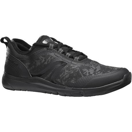 dc19e66e2b8 Chaussures marche sportive femme PW 580 Respidry Imperméable noir ...