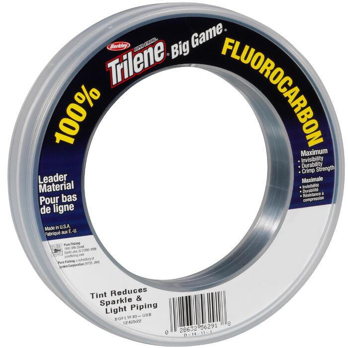 Fluorocarbon voor kunstaasvissen Big Game fluorocarbon 50lbs 91m