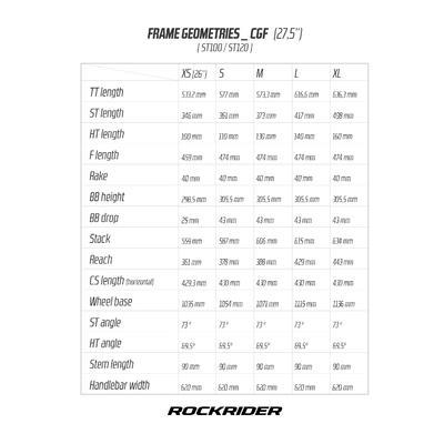 កង់ ROCKRIDER SPORT TRAIL 100 ពណ៌លឿង