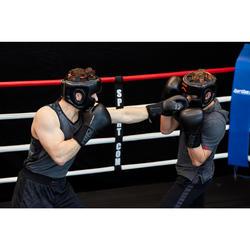 Bokshandschoenen 900 zwart sparring