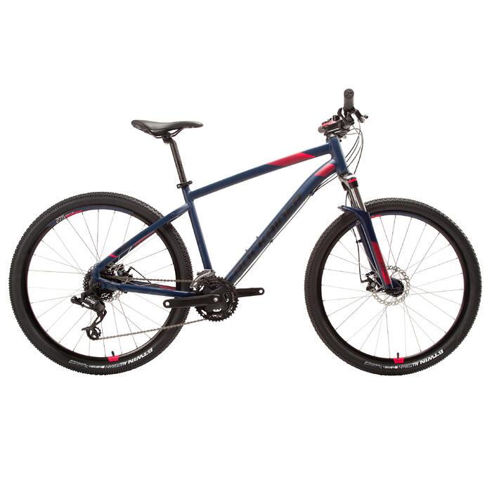 "Mountainbike ST 520 27,5"" MTB Damen blau/rosa"