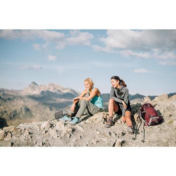 Schoenen voor bergwandelen dames MH500 turquoise