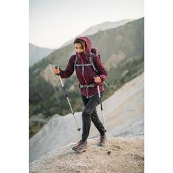 Pantalon modulable de randonnée montagne Femme MH550 Noir