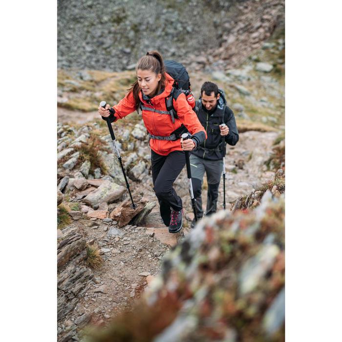Pantalón de senderismo montaña Mujer MH500 Gris