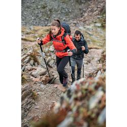 Wanderhose Bergwandern MH500 Damen schwarz