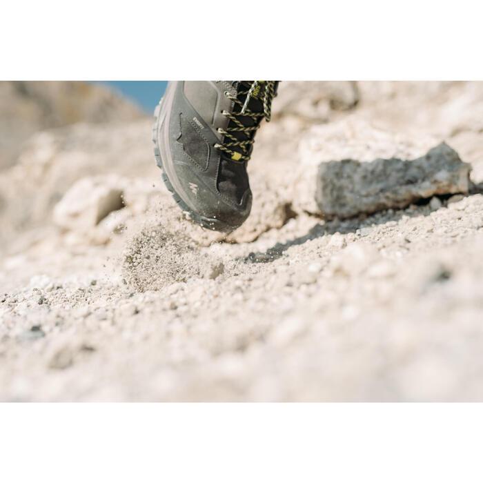 Men's waterproof mountain hiking shoes - MH500 - Grey