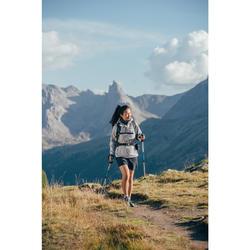 Damesshort voor bergwandelen MH100 donkergrijs