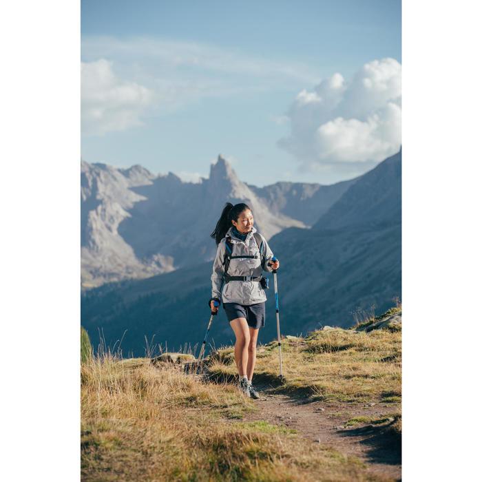 Pantalón Corto Short de Montaña y Trekking Quechua MH100 Mujer Violeta