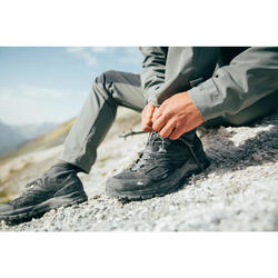 Chaussures de randonnée montagne homme MH900 imperméable noir