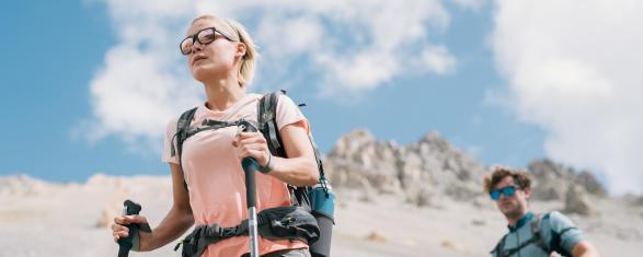 lunettes connectees questionnaire co creation randonnee montagne quechua decathlon