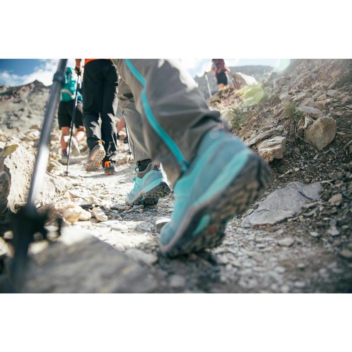 Bergwandelschoenen voor dames MH500 pruim