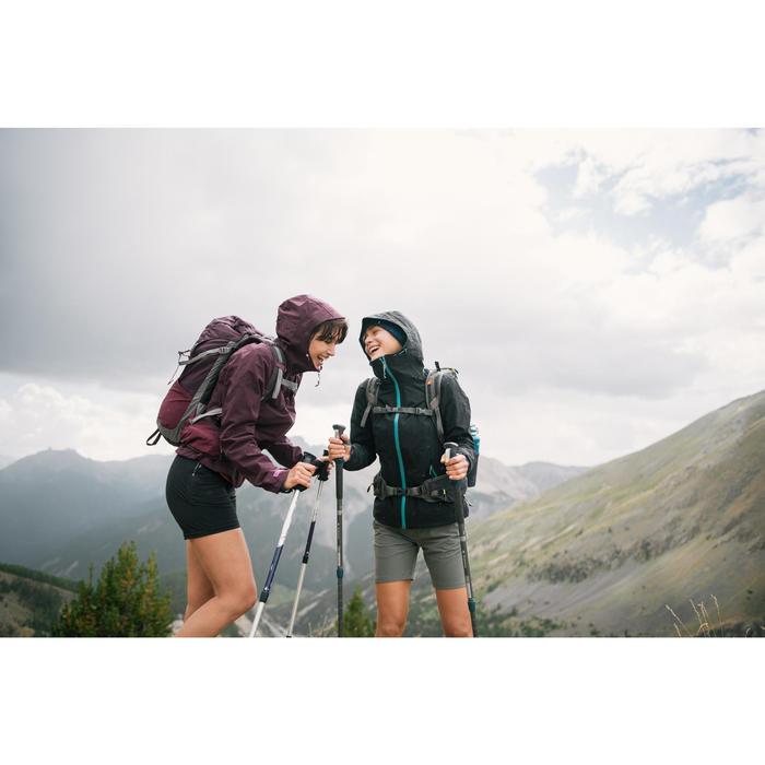 Short de randonnée montagne Femme MH500 Kaki
