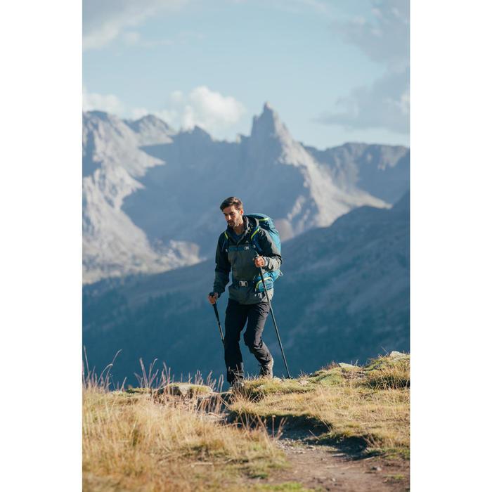 Wandelbroek voor bergtochten heren MH100 zwart