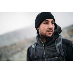 Wanderjacke Bergwandern MH900 wasserdicht Herren schwarz