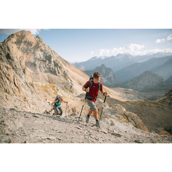 Short de randonnée montagne MH500 long kaki