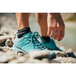 Zapatillas de senderismo montaña mujer MH500 Ciruela