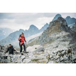 Pantalon femme pour randonnée en montagne MH500 gris