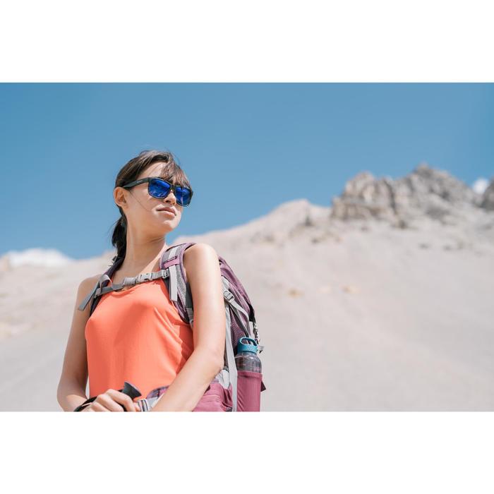 Débardeur de randonnée montagne Femme MH500 Rouge Corail